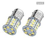 ZISTE Super Helle 2835 Chipsets BA15S P21W 1156 1141 1073 7506 S25 Auto LED Leuchten Xenon Weiß Rückfahrlicht 2er-Paket