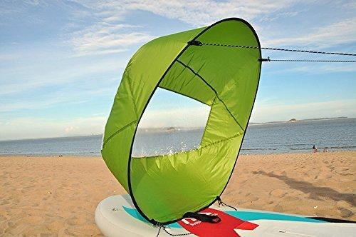 Aunazz/kayak Downwind kit 116,8 cm Kayak canoë Accessoires, installation facile et se Déploie rapidement, compact et portable
