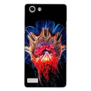 CrazyInk Premium 3D Back Cover for Oppo Neo 7 - Unique Art