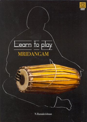 Learn To Play: Mridangam (DVD/Indian Music/Educational/Teaching DvD)