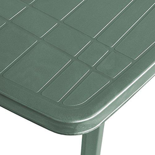 Einfaches Set 6+1 Kunststoff in Grün - 4