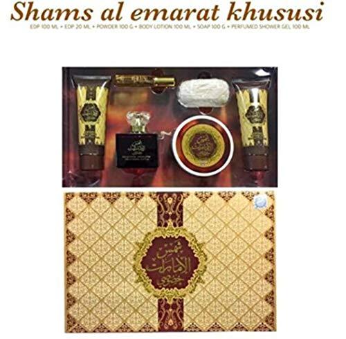Geschenkbox Parfüm Shams Al Emarat ARD AL ZAAFARAN Zusammen Beauty 6 Stück -