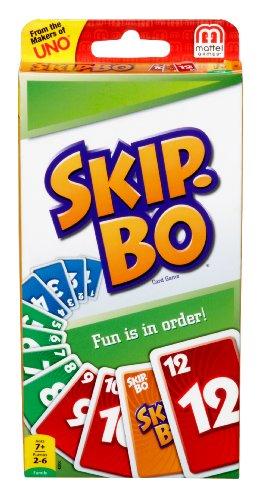 Preisvergleich Produktbild Mattel Games - Skip-Bo Kartenspiel - 1St