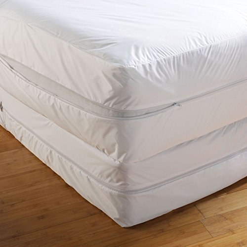 Small Double 4Ft,AAF Bed Bug Proof Total Mattress Enclosure Encasement Protector Cover Anti Allergy Anti Dust Mite Anti Bacterial All Uk Sizes, Single Double King Super King Bunk Bed Small Double
