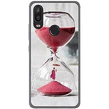 Tumundosmartphone Funda Gel TPU para BQ AQUARIS X2 / X2 Pro diseño Reloj Dibujos