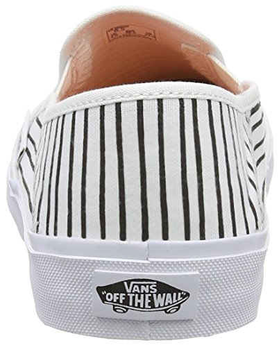 Vans Slip-on Sf Scarpe da Ginnastica Basse, Donna Bianco (just Stripes/true White/black)