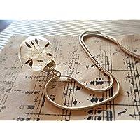 Klassische Pusteblumen Anhänger Sterling Silber Kette Geschenkbox - Löwenzahn-Halskette Wunschanhänger einzigartiges Geschenk für Frauen