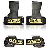 Hydar Strength Gewichtheber-Bandagen, Dual-Funktionalität von Handgelenkbandagen und Handschuhe, gepolstert - 4