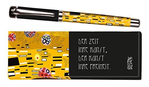 moses. 83048 libri_x Tintenroller Gustav Klimt, Tintenschreiber mit austauschbarer Mine, in einer...