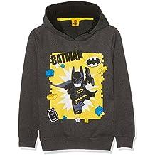 Sudadera gris con capicha de Batman y su peli de Lego