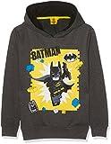 LEGO Batman Jungen Sweatshirt mit Kapuze - grau - 110