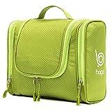 Bago Kulturbeutel/Dusch-Tasche für Reisen, Pflegeprodukte, Makeup und mehr (Grün)