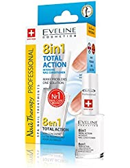 Eveline Cosmetics Therapy Total Action Nail Conditioner 8 In 1, 12 ml