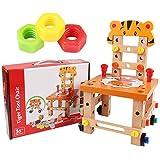 Pädagogische Spielzeugmontage Demontage Spielzeug Aus Holz Tiger Luban Chair Werkzeugstuhl Für Kleinkinder