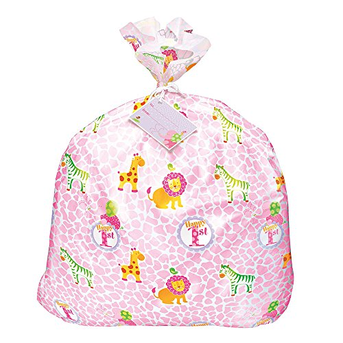 jumbo-plastic-pink-safari-1st-birthday-gift-bag