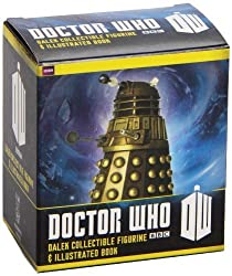Doctor Who: Dalek Collectible Figurine and Illustrated Book (Mga Mini Kits: Doctor Who) by Dinnick, Richard (2013) Paperback