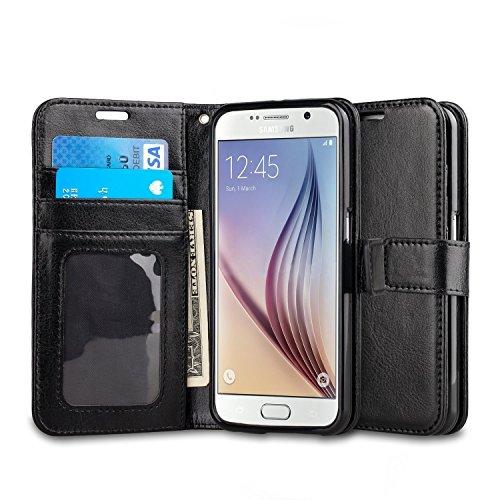 Preisvergleich Produktbild Samsung S8 Hülle, ViViSun Premium Wallet Ledertasche mit Standfunktion und Karte Halter Tasche Schutzhülle Handyhüllefür Samsung Galaxy S8