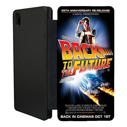 Film Poster Flip Case Cover Für Sony Xperia Z1Compact-A1271-Zurück in die Zukunft
