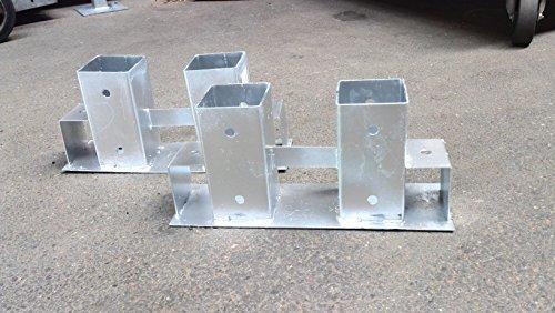Brennholz Stapelhilfe 2er Set Kaminholz Feuerholz Stapel Hilfe 2 tlg