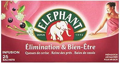 Elephant Infusion Elimination & Bien Etre 25 Sachets 40 g