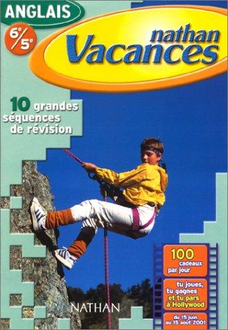 Cahier de Vacances 2001 : anglais 6e-5e par Jacques Marcelin, Charlotte Garner