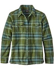 Patagonia W 'S L/S Fjord Flannel Shirt, Damen