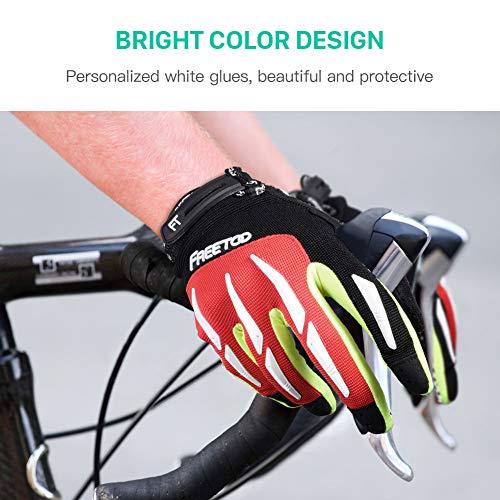 Zoom IMG-2 freetoo gel guanti ciclismo mtb