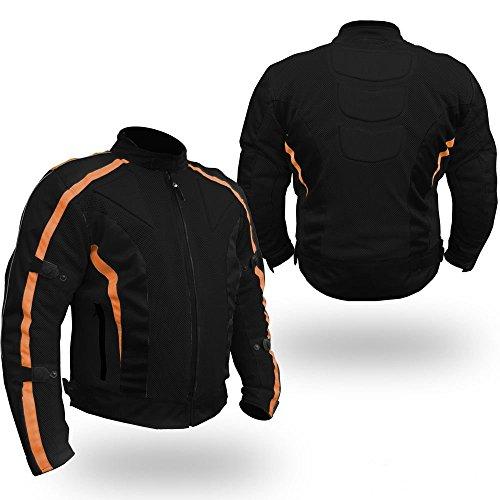 Australian Bikers Gear chaqueta Chicane de Cordura ligera y robusta con protecciones...