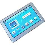 """EvoDigitals Silver 32GB (16GB + 16GB) 4.3"""" Touch Screen MP3 MP4 MP5 Player With TV OUT Equaliser - Videos 