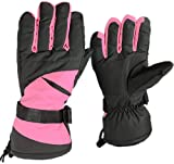 Jazooli Winter Ski Snowboard Snow Sports Thermal Waterproof Unisex Mens Womens Gloves