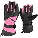 Jazooli Winter Ski Snowboard Snow Sports Thermal Waterproof Unisex Mens Womens Gloves