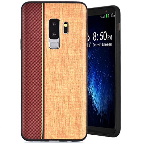 MeganStore Coque Galaxy S9 Plus Silicone, Ultra Mince Leger Silicone TPU Doux Etui de Protection Anti-Choc Anti-Rayures Antidérapant Pare-Chocs Housse pour For Samsung Galaxy S9 Plus, Kaki