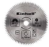 Einhell Mini-Handkreissägen Set TC-CS 860/1 (450 W, max. 23 mm, Sägeblatt Ø 85 mm, Absaugadapter, Parallelanschlag, 2 Sägeblätter, 1 Diamant-Trennscheibe, Führungsschiene, Koffer) -