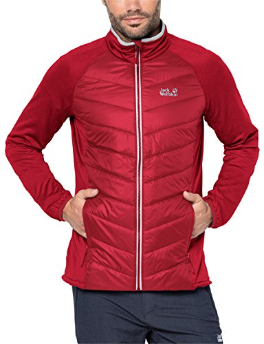 Jack Wolfskin Sutherland Crossing, Giacca Uomo Indian Red Xt