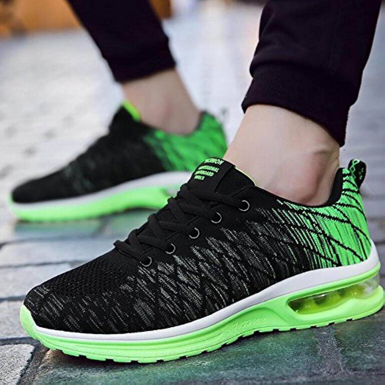 Unbekannt YIXINY Schuhe Sneaker Koreanische Welle der Männer Casual Sportschuhe Laufschuhe Nets Schuhe Schwarz