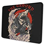 Gaming Mouse Pad Samurai Shark The Ground is My Ocean Mousepad con Goma...