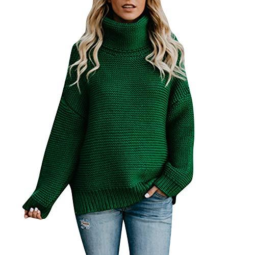 JUTOO Topshop Damen Jeans momwinter Cardigan weißer weihnachtspulli pullis kaufen Pullunder Kaschmir schwarzer schwarz Merino mit reißverschluss Stehkragen v Ausschnitt(XL)