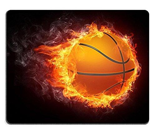 Jun XT Gaming Mauspad Basketball Ball on Fire 2D Graphics Computer Design Bild-ID 6742973