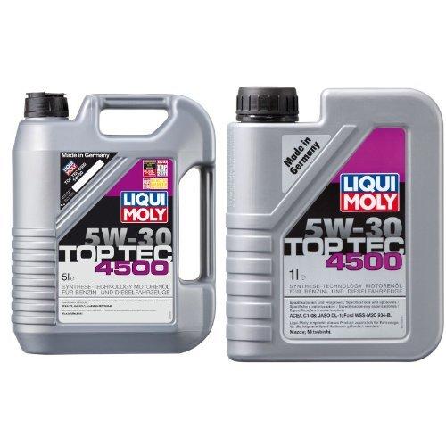 Preisvergleich Produktbild Liqui Moly Top Tec 4500 Motoröl 5W-30, 6 Liter (5L + 1L)