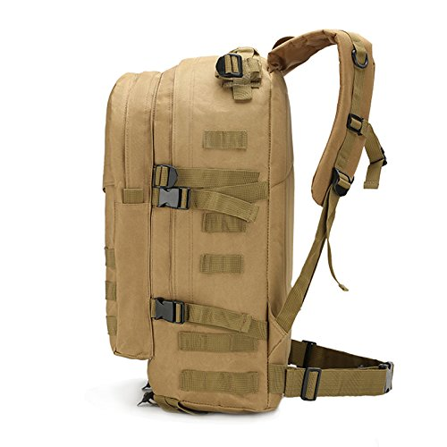 Alpinismo Outdoor borse per gli uomini e le donne di spalla camuffamento zaino borse impermeabili 50*37*21cm, deserto Cp