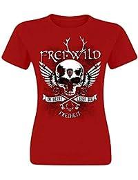 Frei.Wild - Im Geist Liegt Die Freiheit Girlie-Shirt in verschiedenen Farben