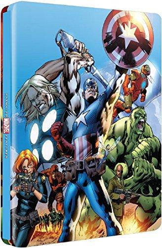 Ultimate Avengers (Blu-ray SteelBook) (Zavvi Exclusive) [ UK Import]