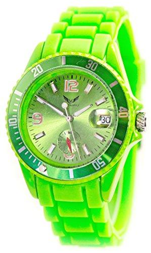 Automatik-Uhr Armband-Uhr Herren-Uhr Mechanische Grüne Sport-Uhr