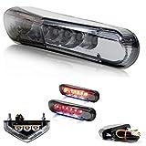 LED Rücklicht - E-geprüft - mit KZB - 12V für Motorrad - Roller - Scooter - Quad - Moped - Mofa