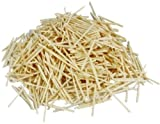 Best Allumettes - 1000 Allumettes lisses en bois naturel pour la Review