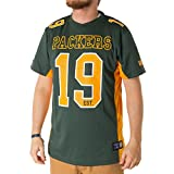 Majestic Green Bay Packers Moro Est. 21 Mesh Jersey NFL T-Shirt (XXL)