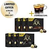 L'OR Café Espresso Lot de Maxi Pack - Capsules de café en aluminium compatibles...