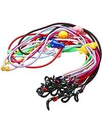 Children Lot de 12 cordons élastiques colorés pour lunettes de sécurité ... f2e48bb07986
