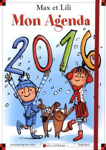 Mon agenda Max et Lili 2016