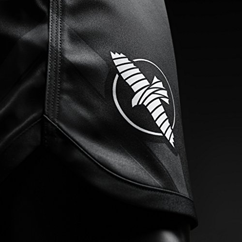 Hayabusa Metaru Charged Fight Shorts Black Black